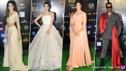 IIFA 2019 Best Dressed: Alia Bhatt, Katrina Kaif and Ranveer Singh Slay on the Green Carpet (View Pics)