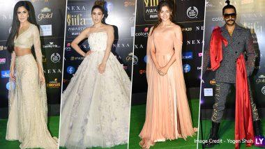 IIFA 2019 Best Dressed: Alia Bhatt, Katrina Kaif and Ranveer Singh Slay on the Green Carpet (View Pics)
