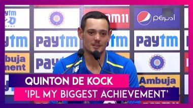 Quinton De Kock: Playing IPL Final My Career's Biggest Achievement