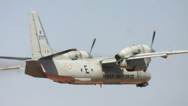 Military Infrastructure Boost Along China Border: IAF An-32 Lands at Vijaynagar Advanced Landing Ground in Arunachal Pradesh; Watch Video