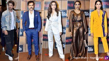 Shah Rukh Khan, Parineeti Chopra, Emraan Hashmi, Sobhita Dhulipala and Other Celebs Attend Special Screening of the Bard of Blood (View Pics)