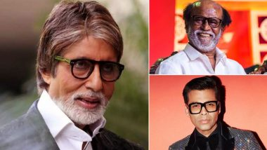 Amitabh Bachchan to Receive Dadasaheb Phalke Award 2019: Rajinikanth, Karan Johar and Other Celebs Post Congratulatory Messages for the Legendary Star