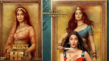 Housefull 4 First Look: Kriti Kharbanda as Charming Rajkumari Meena and Cute Neha Has Gotten us Excited for this Reincarnation Comedy (View Pic)