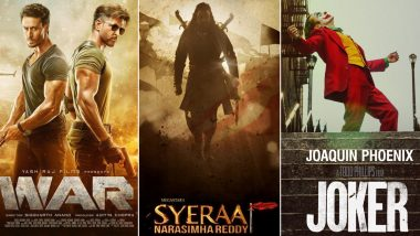 War, Sye Raa Narasimha Reddy or Joker: Which Film Are You More Excited to Watch on October 2?