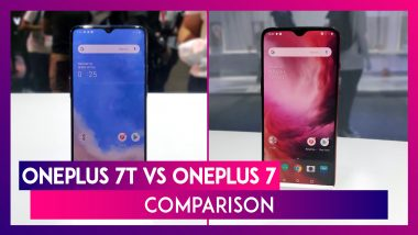 OnePlus 7T vs OnePlus 7 Comparison: Price In India, Features, Variants, Colours & Specifications