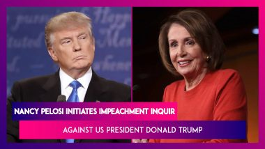 Nancy Pelosi Initiates Impeachment Inquiry Against US President Donald Trump: Facts Of The Case