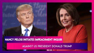 Nancy Pelosi Initiates Impeachment Inquiry Against US President Donald Trump: Facts Of The Case
