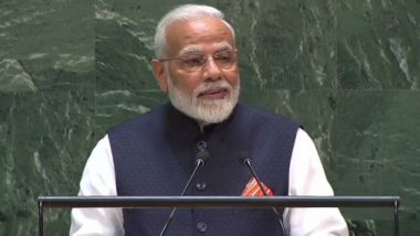 PM Narendra Modi Speech at UNGA: Prime Minister Says World Must Fight Terrorism Together, Adds 'India Gave The World Buddh, Not Yuddh'; Here Are Highlights From The Address