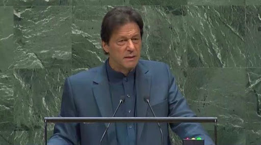 Imran Khan Makes Provocative Speech At UNGA, Says 'There Will Be Bloodbath in Kashmir After Narendra Modi Government Lifts Curfew'