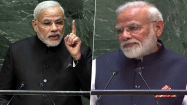 PM Narendra Modi Dons Kurta and Jacket Instead of All-Black Suit, Chooses to Go Indian at UNGA in New York