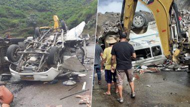 Uttarakhand: 6 Killed, 4 Injured After Mini-Bus Hit by Landslides at Devprayag Area of Tehri Garhwal