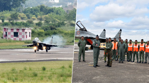 IAF Mig-29 Flies For Last Time Before Undergoing Overhaul at 11 Base Repair Depot
