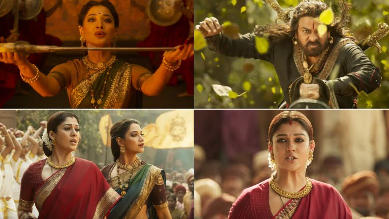 Sye Raa Narashima Reddy Song O Sye Raa: Nayanthara and Tamannaah Come Together to Praise Chiranjeevi's Eponymous Hero in This Powerful Anthem (Watch Video)