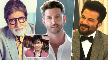 Amitabh Bachchan, Hrithik Roshan and Other Celebs Trolled by Twitterati for Sharing KRK's Song Tum Meri Ho