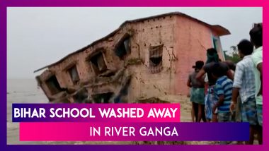 Bihar: School Washed Away In River Ganga In Katihar