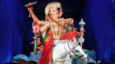 MumbaiCha Raja 2019 Darshan Live Streaming Online: Watch Telecast of Ganpati Puja Aarti From Mumbai's Famous Ganesh Galli Cha Raja Pandal
