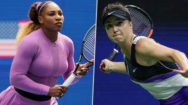 Elina Svitolina vs Serena Williams, US Open 2019 Live Streaming & Match Time in IST: Get Telecast & Free Online Stream Details Semi-Final Match in India