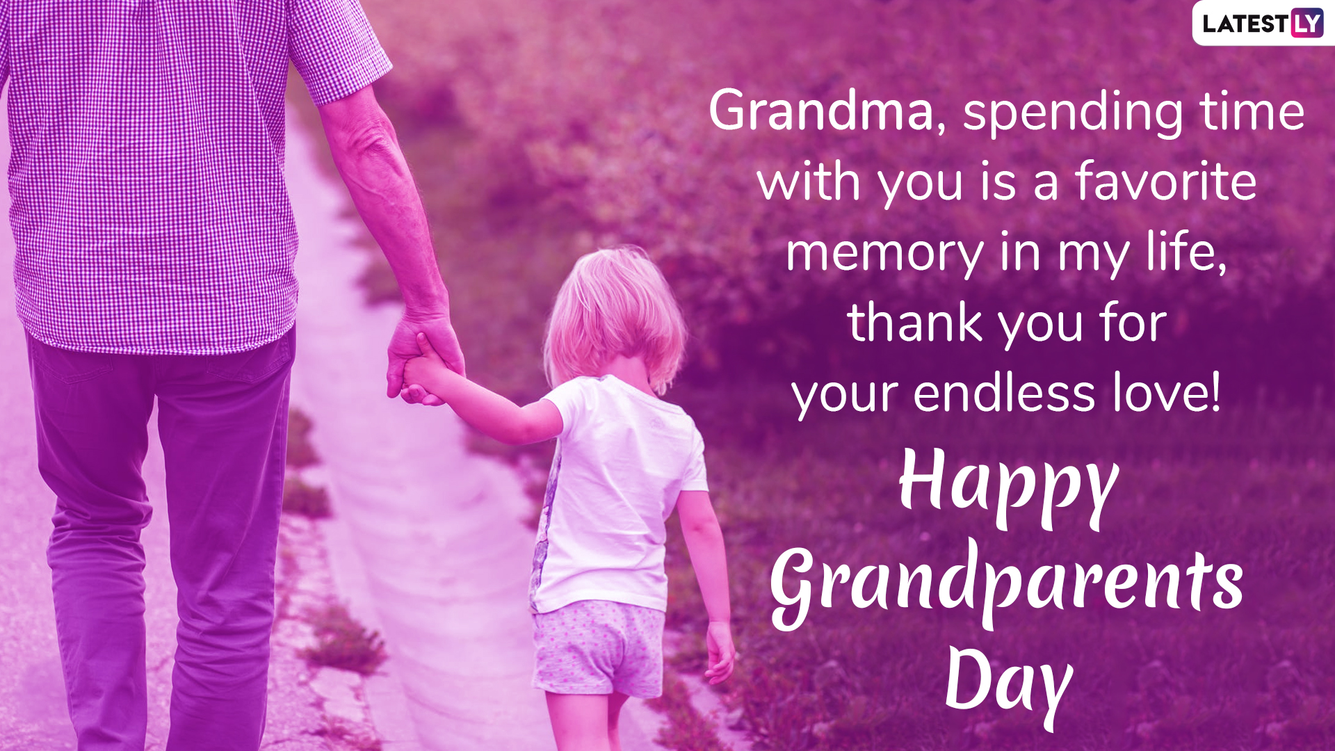 Happy Grandparents Day  Wishes Whatsapp Stickers Messages