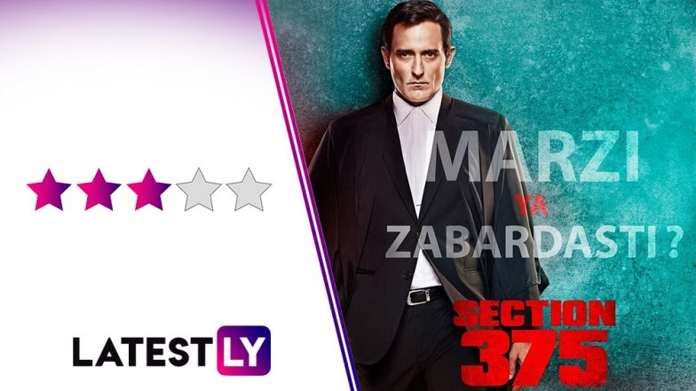 Section 375 Movie Review: Akshaye Khanna Delivers a Powerful Act in This Murky Legal Thriller