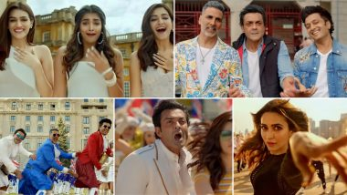 Housefull 4 Song Ek Chumma: Akshay Kumar, Riteish Deshmukh and Bobby Deol Beg for Kisses from Their Leading Ladies in This Peppy Number