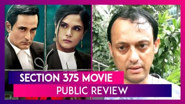 Section 375 Public Review: Hear What Fans Have To Say About This Akshaye Khanna & Richa Chadha Film