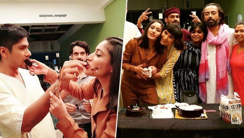 Surbhi Chandna Enjoys Her 30th Birthday Celebrations With Ishqbaaz Team and Sanjivani 2 Co-Stars (View Pics)