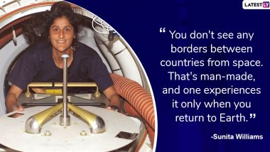 Sunita Williams Birthday: Inspiring Quotes by Indian-American NASA Astronaut