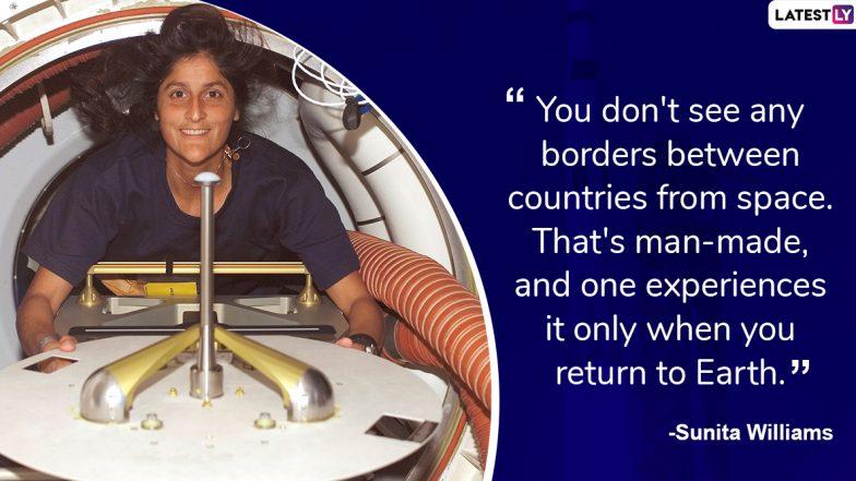 Sunita Williams Birthday: Inspiring Quotes by Indian-American NASA Astronaut