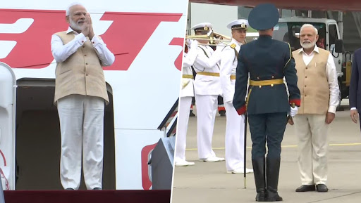 PM Narendra Modi Arrives at Vladivostok International Airport For 2-Day Visit to Russia, Will Meet Vladimir Putin Today