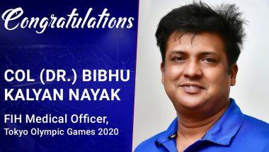 Tokyo Olympics 2020: Bibhu Kalyan Nayak of Odisha Becomes First Indian Medical Officer for Olympics
