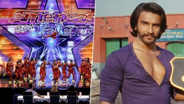 Mumbai Dance Group 'V Unbeatable' to Perform in America's Got Talent Final on Ranveer Singh Hits