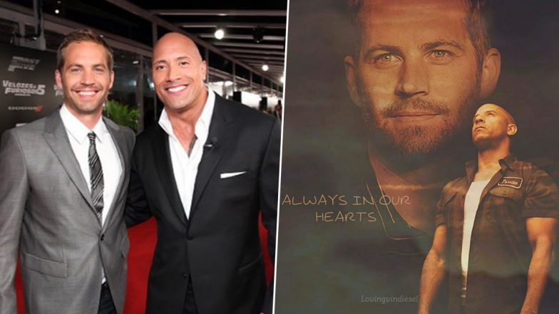 Dwayne Johnson, Vin Diesel Pay Tribute to 'Fast And Furious' Co-Star Paul Walker on His Birth Anniversary