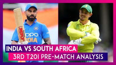 India vs South Africa 2019, 3rd T20I at Bangalore, Preview India aim to seal series win