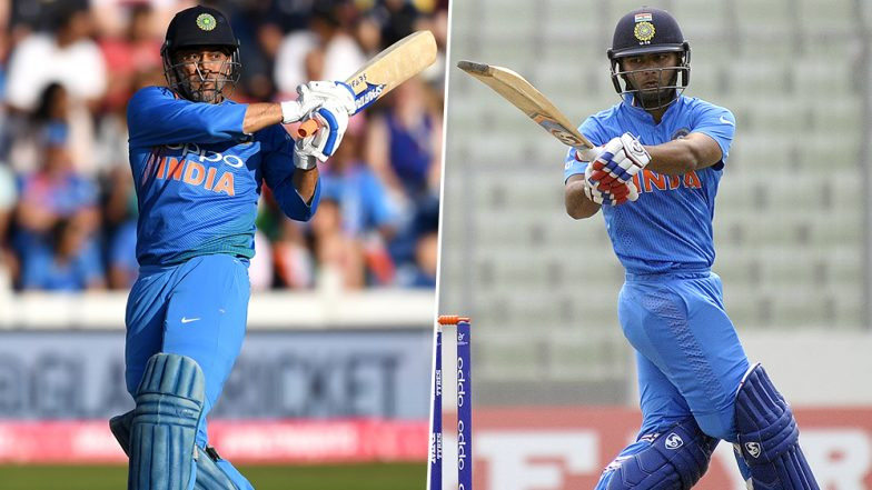 Rishabh Pant Beats MS Dhoni, Become Fastest Indian Stumper to Claim 50 Wicket-Keeping Dismissals in Test Cricket