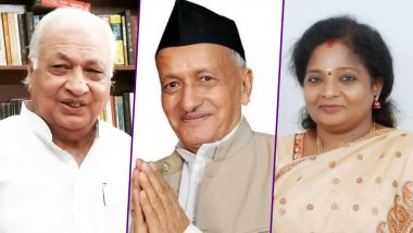 From Arif Mohammad Khan to Tamilisai Soundararajan, List of New Governors For Kerala, Himachal Pradesh, Telangana, Maharashtra And Rajasthan