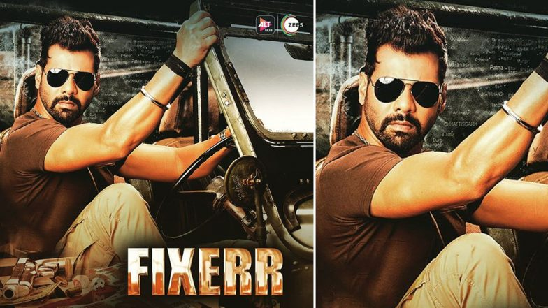ALTBalaji's Fixerr Poster: Shabir Ahluwalia, as an Intense Cop, Has Left Fans Excited (View Pic)