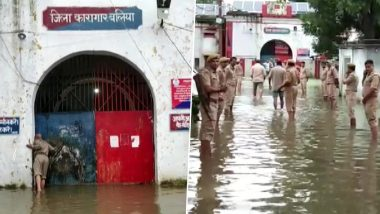 Uttar Pradesh Rains: Hundreds of Inmates of Ballia Jail Shifted to Different Prisons After Flood Water Enters Barracks