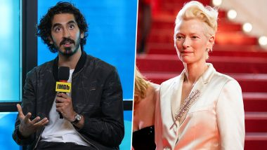 Dev Patel Accidentally Elbowed Tilda Swinton's Face on the First Day Shoot of David Copperfield Movie