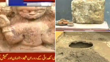Pakistan: Idols of Lord Shiva, Hanuman and Ganesh Unearthed From 1,500-Year-Old Shri Panchmukhi Hanuman Mandir in Karachi
