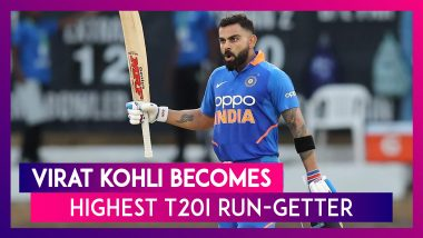 Indian Skipper Virat Kohli Becomes Highest T20I Run-Getter