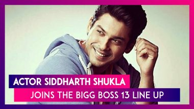 Bigg Boss 13 Contestant Siddharth Shukla: Here You Need to Know About the Tall, Dark, Handsome Actor