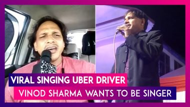 Viral Singing-Uber Driver Vinod Sharma Talks About His Dreams