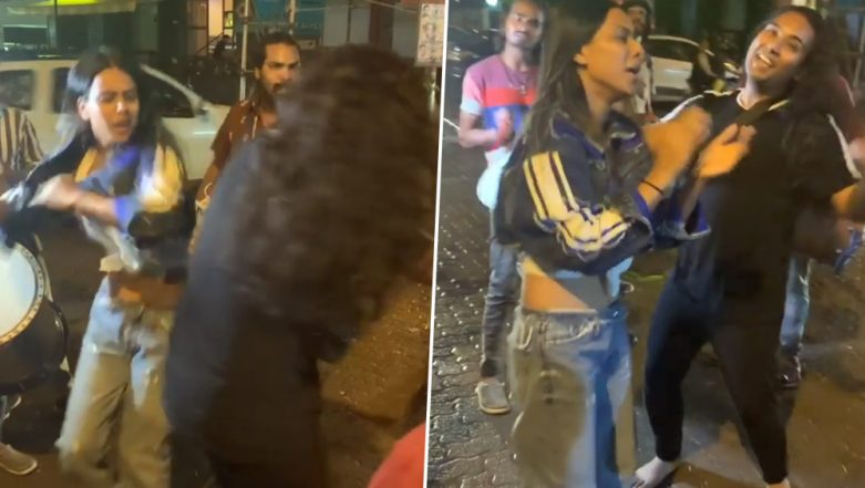 Ganesh Chaturthi 2019: Nia Sharma Breaks Into a Crazy Dance on the Streets of Mumbai As She Welcomes Ganpati Bappa (Watch Viral Video)