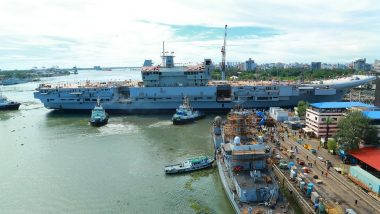Kerala Crime Branch to Probe Security Breach at Cochin Shipyard, After Theft Reported on Under-Construction Aircraft Carrier INS Vikrant