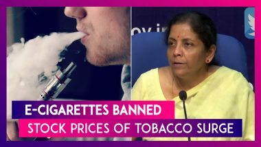 E-Cigarettes Banned As It Risks Youth's Health Says Govt; Stock Prices Of Tobacco Surge Due To Move