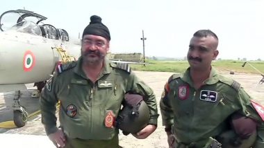 IAF Chief BS Dhanoa 'Honoured' to Fly Last MiG-21 Sortie With Wing Commander Abhinandan Varthaman, Says 'Both of Us Have Fought Pakistan'