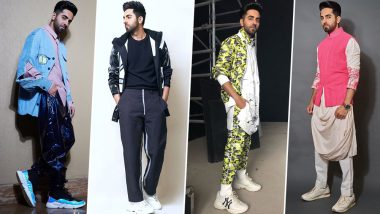 Ayushmann Khurrana Birthday Special: His Fashion Wardrobe is Peppy like his Persona and Interesting like his Movie Choices (View Pics)