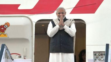 'Howdy, Modi!': PM Narendra Modi Arrives In Houston, To Address Over 50,000 Indian-Americans Tomorrow