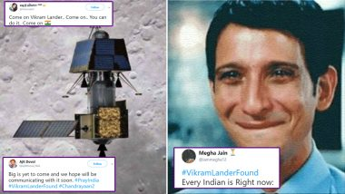 Chandrayaan-2 Clicks Pictures of Vikram Lander on Moon Surface: Netizens Rejoice With #VikramLanderFound Hopeful and Funny Memes on Twitter Hailing ISRO
