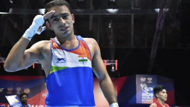 Amit Panghal Clinches Historic Silver Medal at AIBA World Boxing Championships 2019, Indian Boxer Loses to Shakhobidin Zoirov in Finals